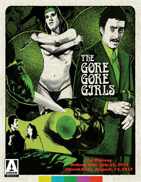 Arrow Video Picks Aug. 14 For The Release Of A Blu-ray Edition Of Herschell Gordon Lewis' The Gore Gore Girls