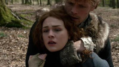 Jamie demuestra a Brianna que aunque hubiera luchado contra Bonnet, no habría podido con él