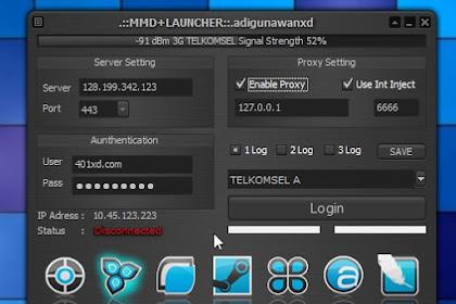MMD/MDMA Launcher 3G 4G Mode E99 Dial Up Qos 21Mbps