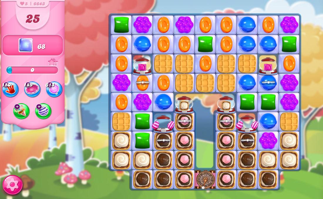 Candy Crush Saga level 6643