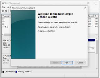 Cara Partisi Hardisk  (Windows 10, 8, 7, Vista, XP ) kurang 10 menit
