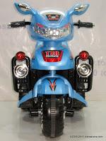 2 Motor Mainan Aki Merino 818 Police Escort