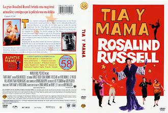 Carátula dvd: Tía y mamá (1958) (Auntie Mame)