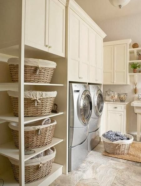 easy garage makeover ideas - Laundry Room Decorating Ideas Home Decorating Ideas