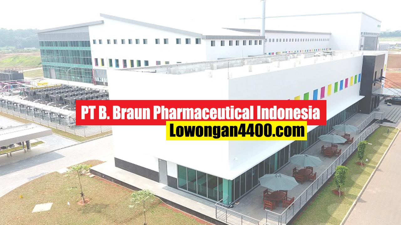PT. B Braun Pharmaceutical Indonesia