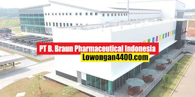 Lowongan Kerja PT. B Braun Pharmaceutical Indonesia Cikampek Karawang