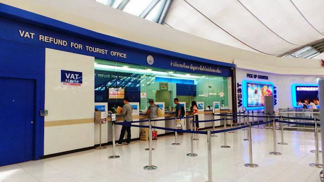 devolución de impuestos en Tailandia
