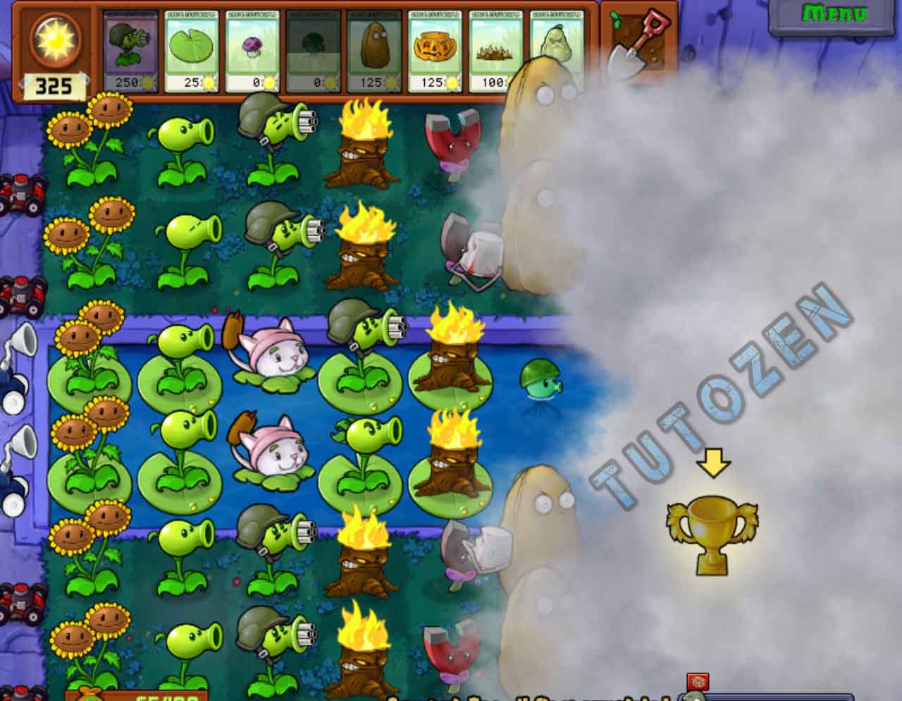 Plants Vs  Zombies Full Version Game Portable, No Need To