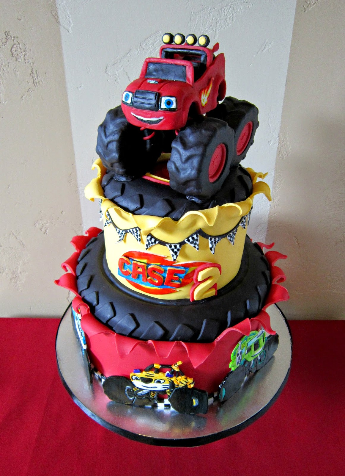 Delectable Cakes Quot Blaze And The Monster Machine S