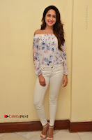 Actress Pragya Jaiswal Latest Pos in White Denim Jeans at Nakshatram Movie Teaser Launch  0018.JPG