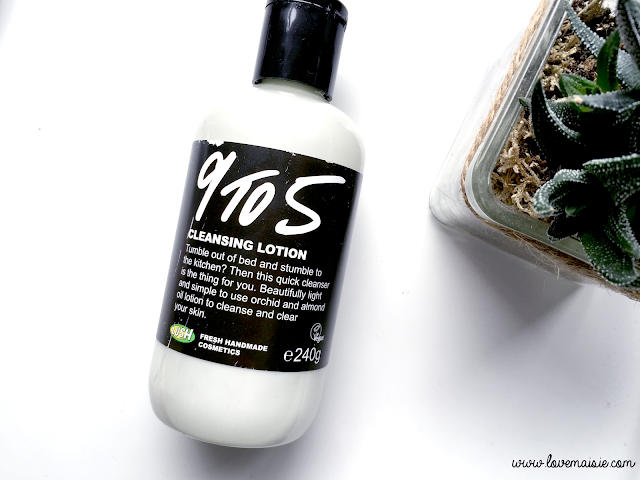 9 TO 5 CLEANSING LOTION | LUSH REVIEW