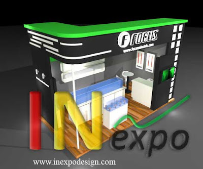 BOOTH FOCUS ELECTRIC PAMERAN TRADE EXPO INDONESIA JIEXPO Kontraktor Inexpodesign