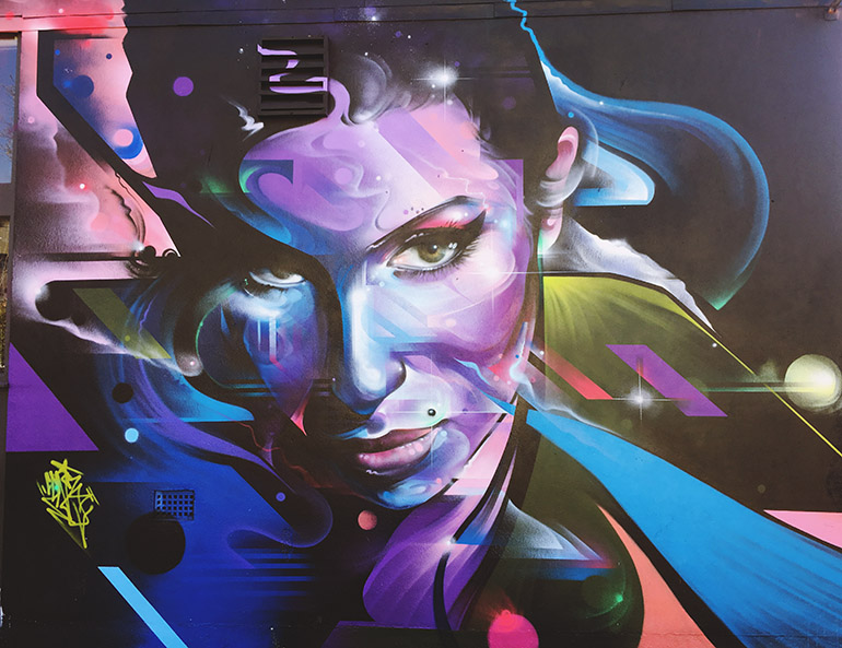 Amy Winehouse Camden Street Art Graffiti