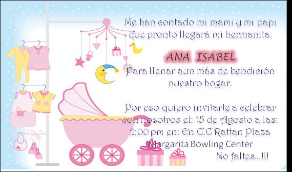 10 Invitaciones Para Baby Shower Niña Y Niño Baby Shower