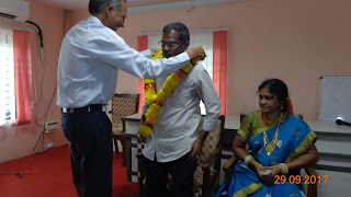 Shri K.Kodanda Rao, Library Attendant , All India Radio, Visakhapatnam Retired on 30.09.2017.
