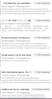 group facebook tki