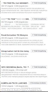 group facebook tki