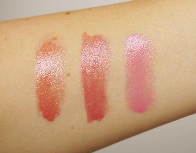 Revlon - Colorburst Lip Butter 080 Strawberry Shortcake, 025 Peach Parfait, 050 Berry Smoothie