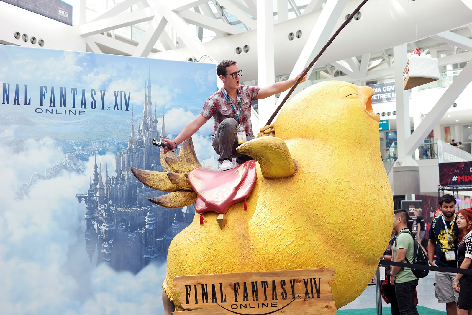 Fat Chocobo Final Fantasy XIV at E3
