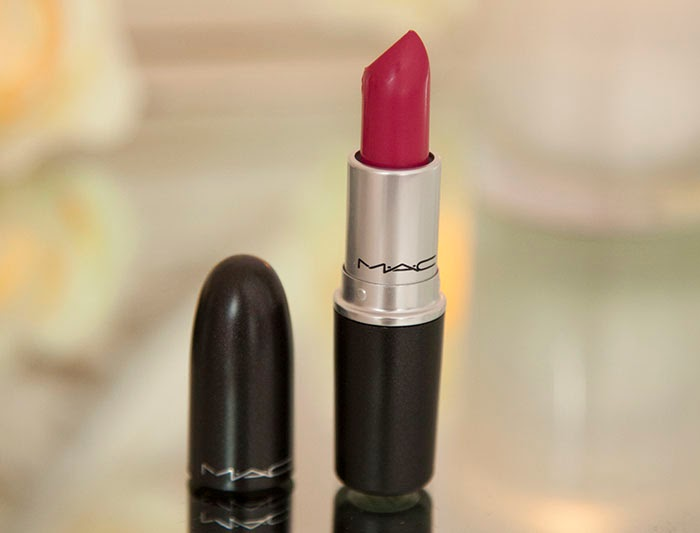 MAC Girl About Town Lipstick Review Swatch