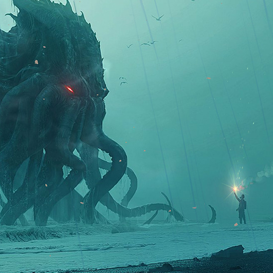 Cthulhu Beach Party Wallpaper Engine