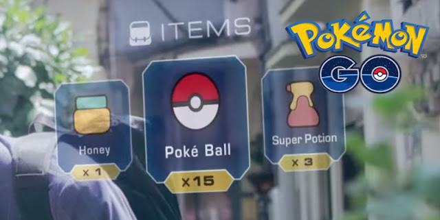 Item yang di Terima Setelah naik level atau Level Up di Pokemon GO