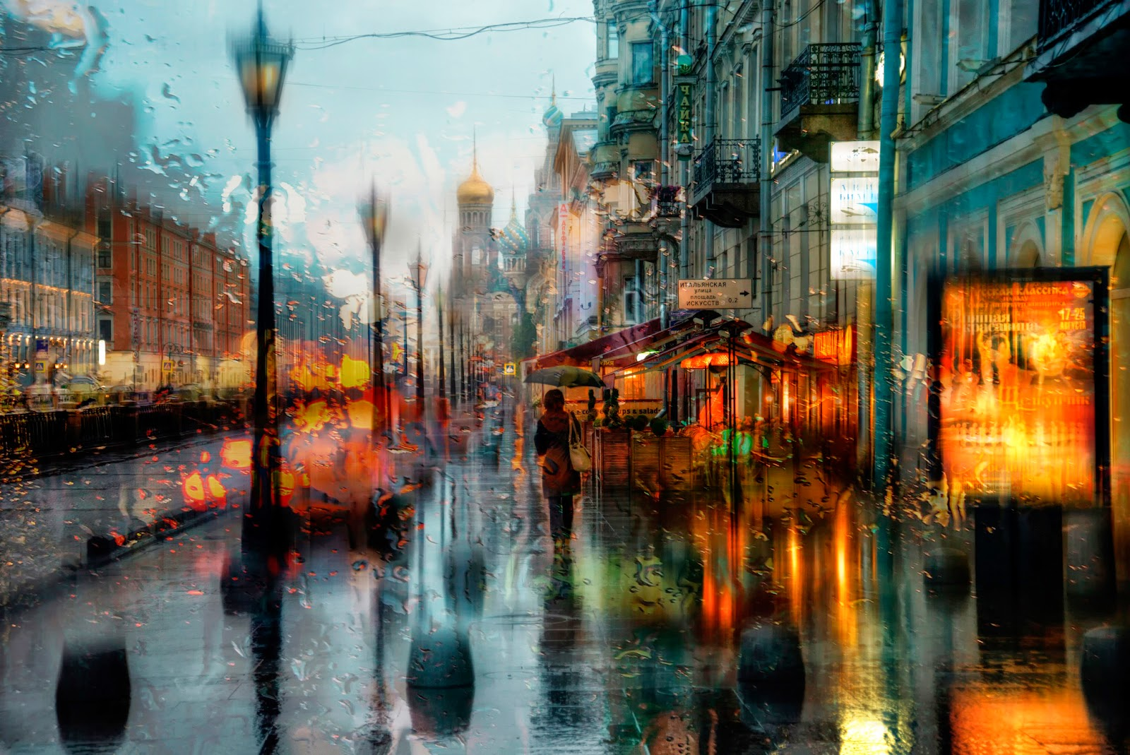 100% Desktop Quality HD Wallpapers 1080p Free Download: Rainy Day City HD Wallpapers