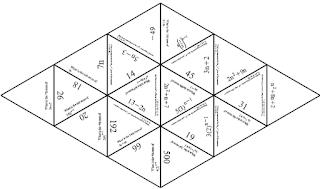 Sequences Activity ~ TenTors Math Teacher Resources