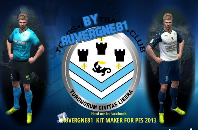 FC Tours Kit 2016-2017 (Ligue 2) - PES 2013 - PATCH PES | New Patch