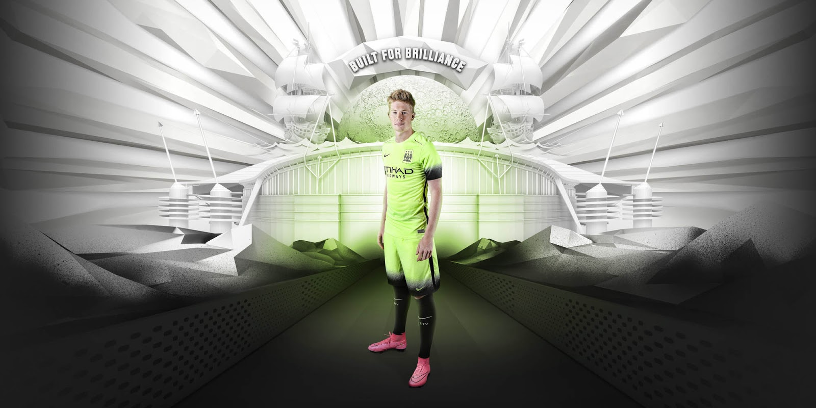 Manchester City 15-16 Third Kit Released