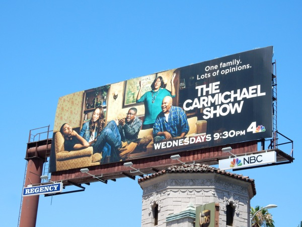 The Carmichael Show series premiere billboard