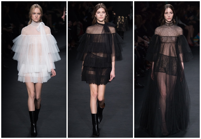 cf. Valentino 2015 AW Little White Tulle Dress
