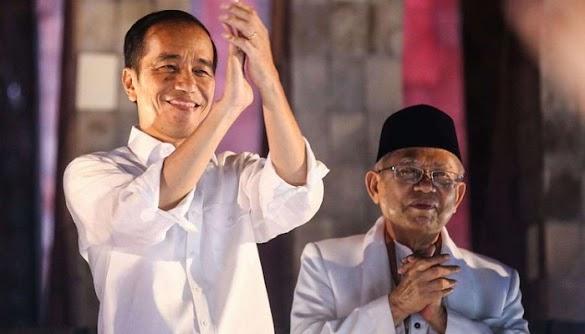 Charta Politika Sebut Ma'ruf Amin Cuma Sumbang 0,2 Persen Suara ke Jokowi