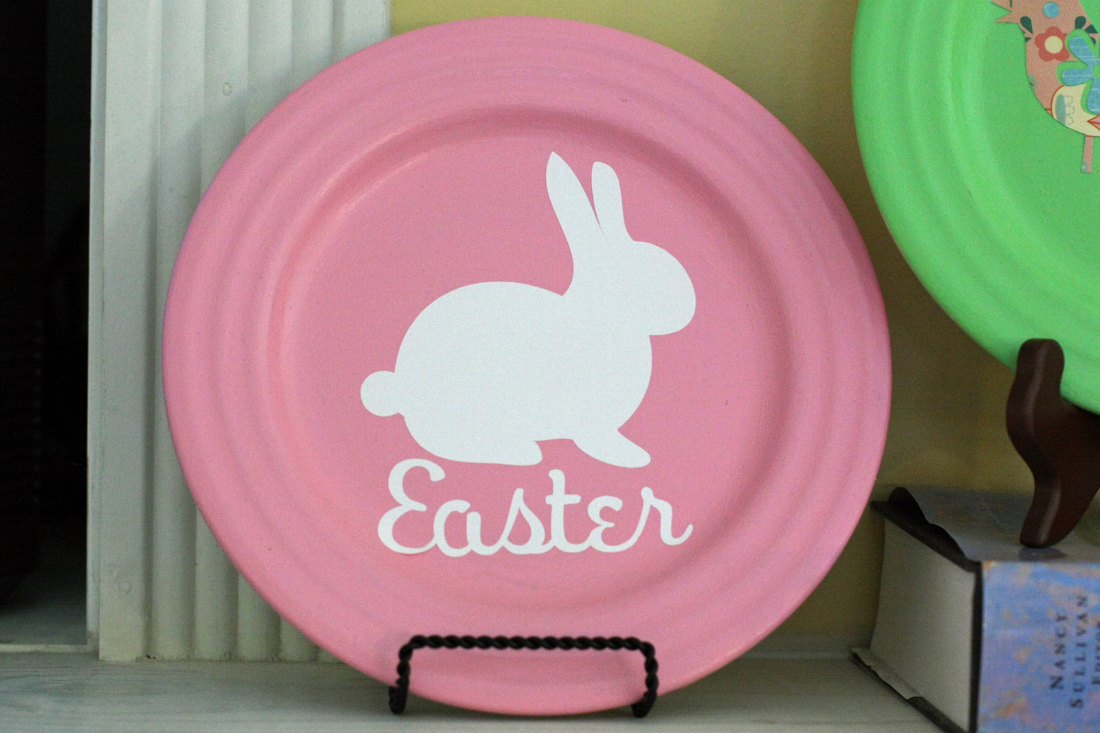 Easter And Spring Plates