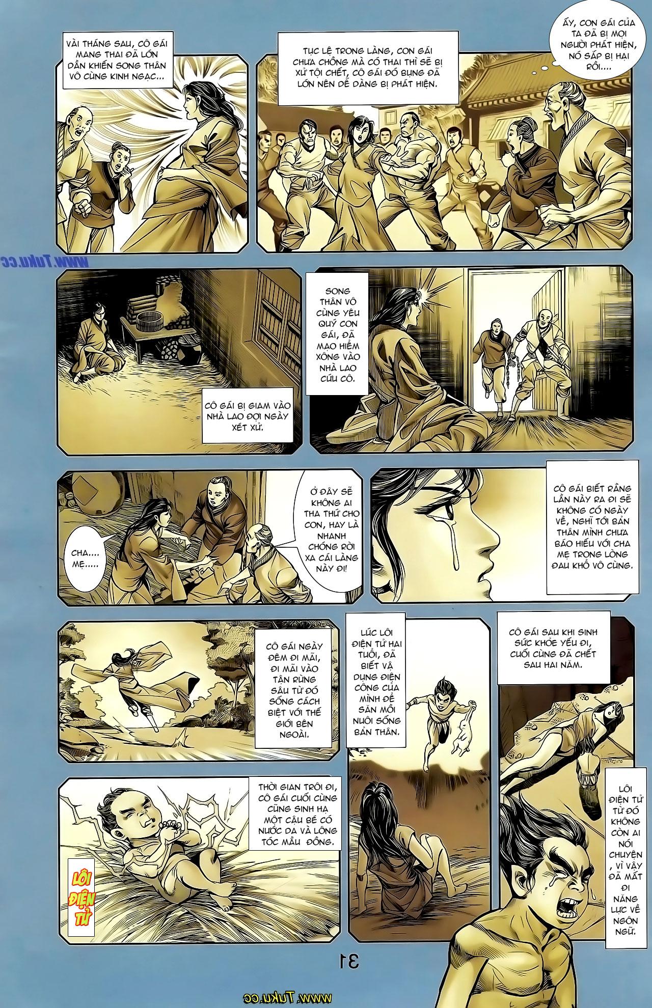 Cơ Phát Khai Chu Bản chapter 129 trang 28