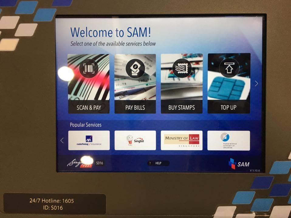 sam machine