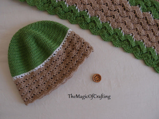 Free Crochet Patterns And Diy Crochet Charts Easy Waves Hat