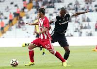 Τα στιγμιότυπα της φιλικής ήττας του Ολυμπιακού από την Beşiktaş με 1-0