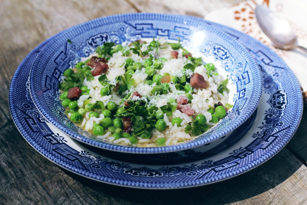 Risi e Bisi-Rice and Peas