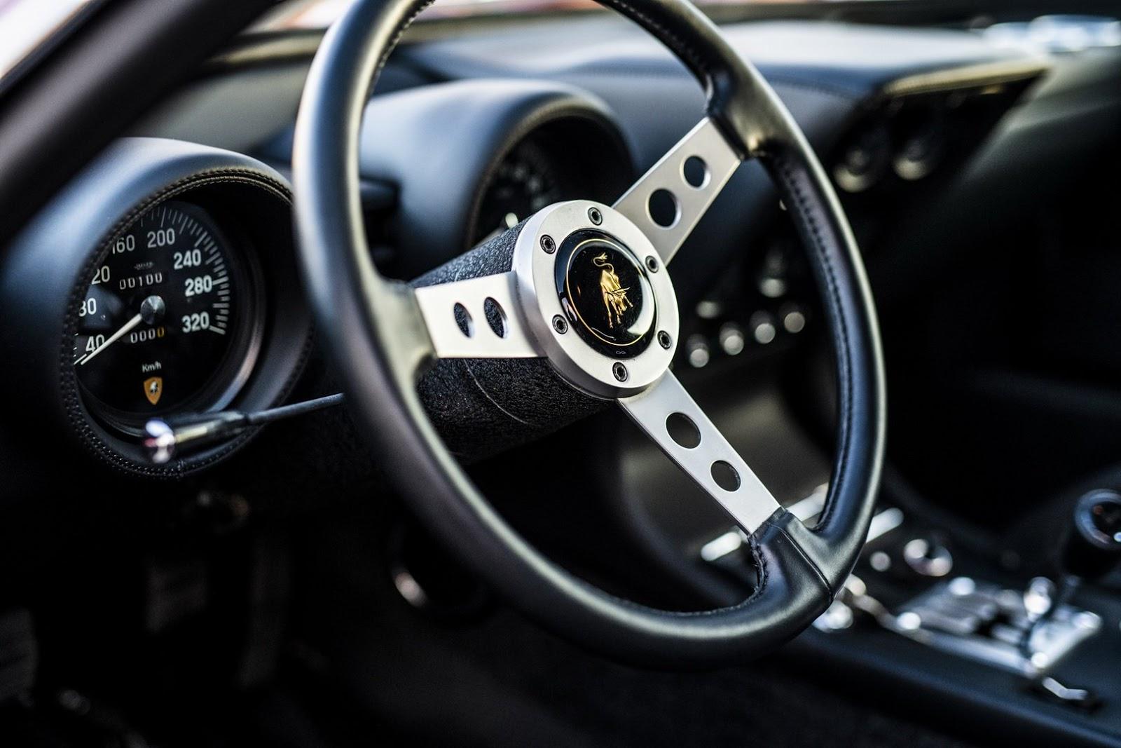 1972 Lamborghini Miura P400sv Gets Restored By Polo Storico