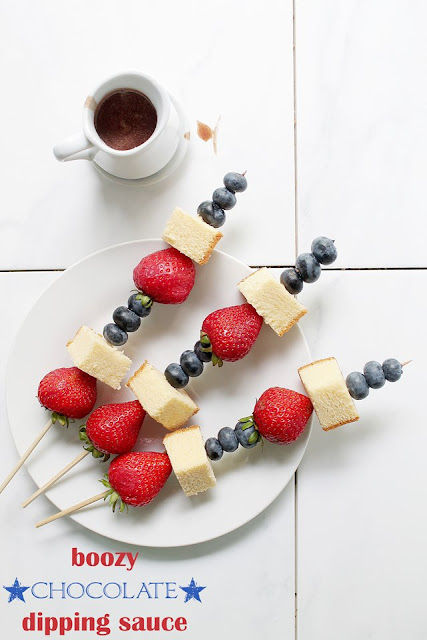 Memorial Day Shenanigans | DIY | Recipes | Summer | Holidays | Fruit Skewers | Chocoalte