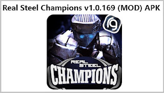 Real Steel Champions v1.0.169 MOD APK+DATA