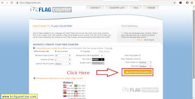 How To Add Flag Counter Widget In Blogger Website - | TechGameTime
