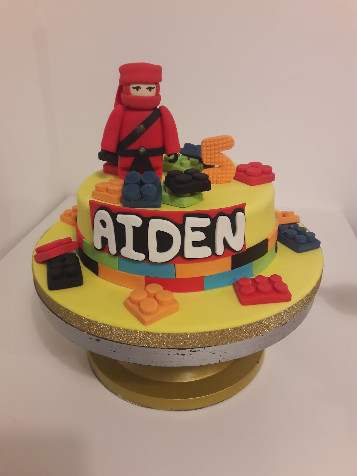 My Blogs Ninjago Birthday Cake From Catherine Cakery