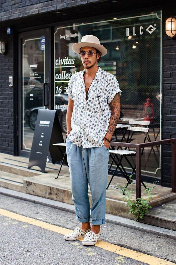 look masculino para réveillon 2019