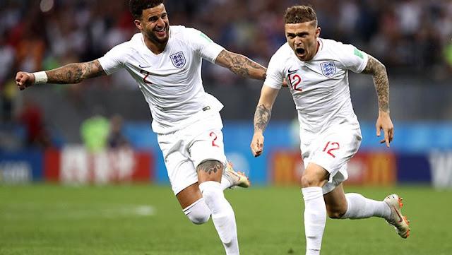 Piala Dunia 2018 : Kroasia Sibuk Rayakan Gol Mandzukic, Inggris 'Berbuat Licik'