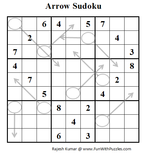 Arrow Sudoku (Daily Sudoku League #52)