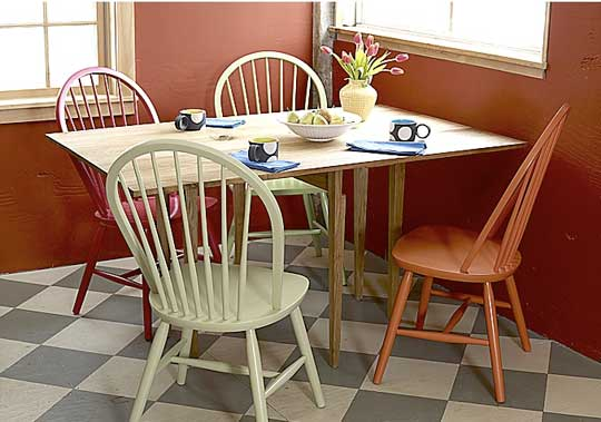 TristinandCompany: Linky Love: Colorful Dining Room Chairs ...
