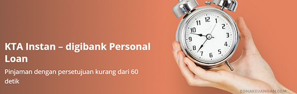 KTA Instan - Digibank Personal Loan