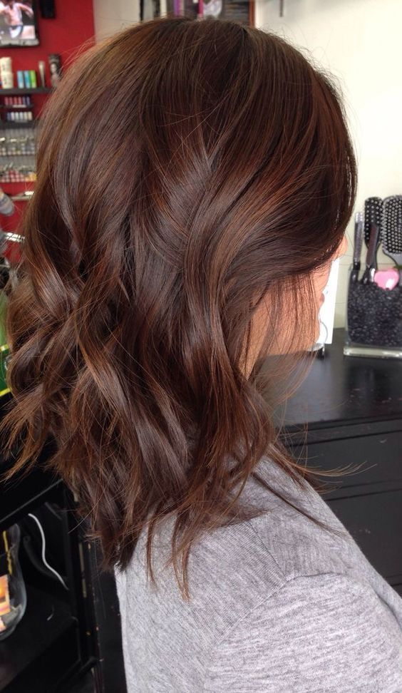 Dark Chestnut Hair Color